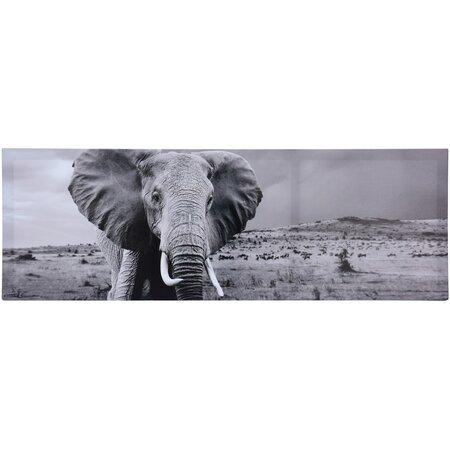 Elefánt falikép 30 x 90 cm