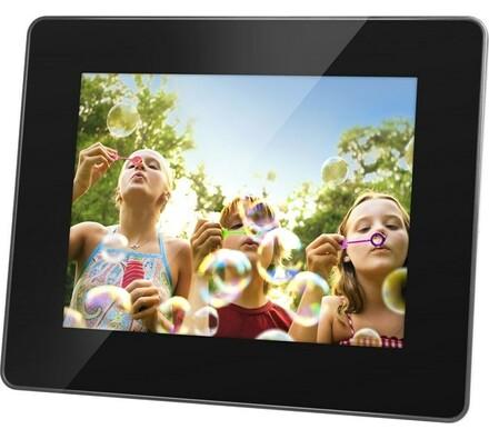 Digitální fotorámeček SDF 750 B, Sencor, černá, 17, 5 cm