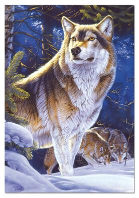 Puzzle Vlk na hlídce