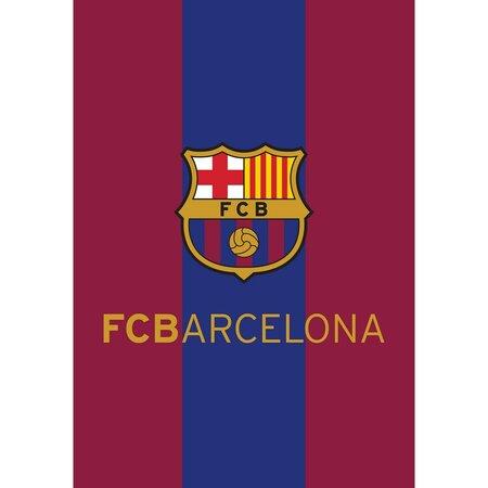 Fleecová deka FC Barcelona, 140 x 200 cm