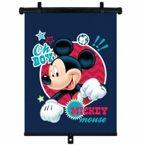 Roleta na přísavky s aretací Mickey, 45 x 36 cm