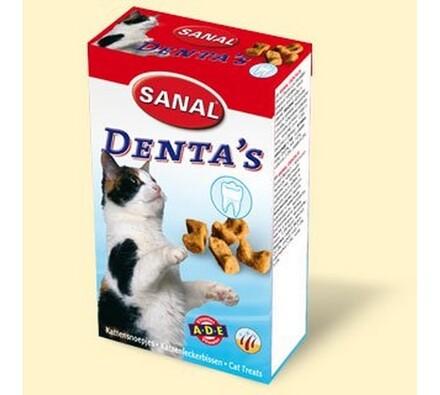Sanal Denta's křupavý snack na čištění zubů, 75g