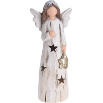 Înger LED de Crăciun Koopman Christmas guardian, 24 cm