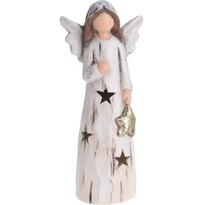 Koopman Vánoční LED anděl Christmas guardian, 24 cm