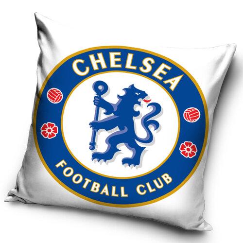TipTrade Vankúšik FC Chelsea white, 40 x 40 cm