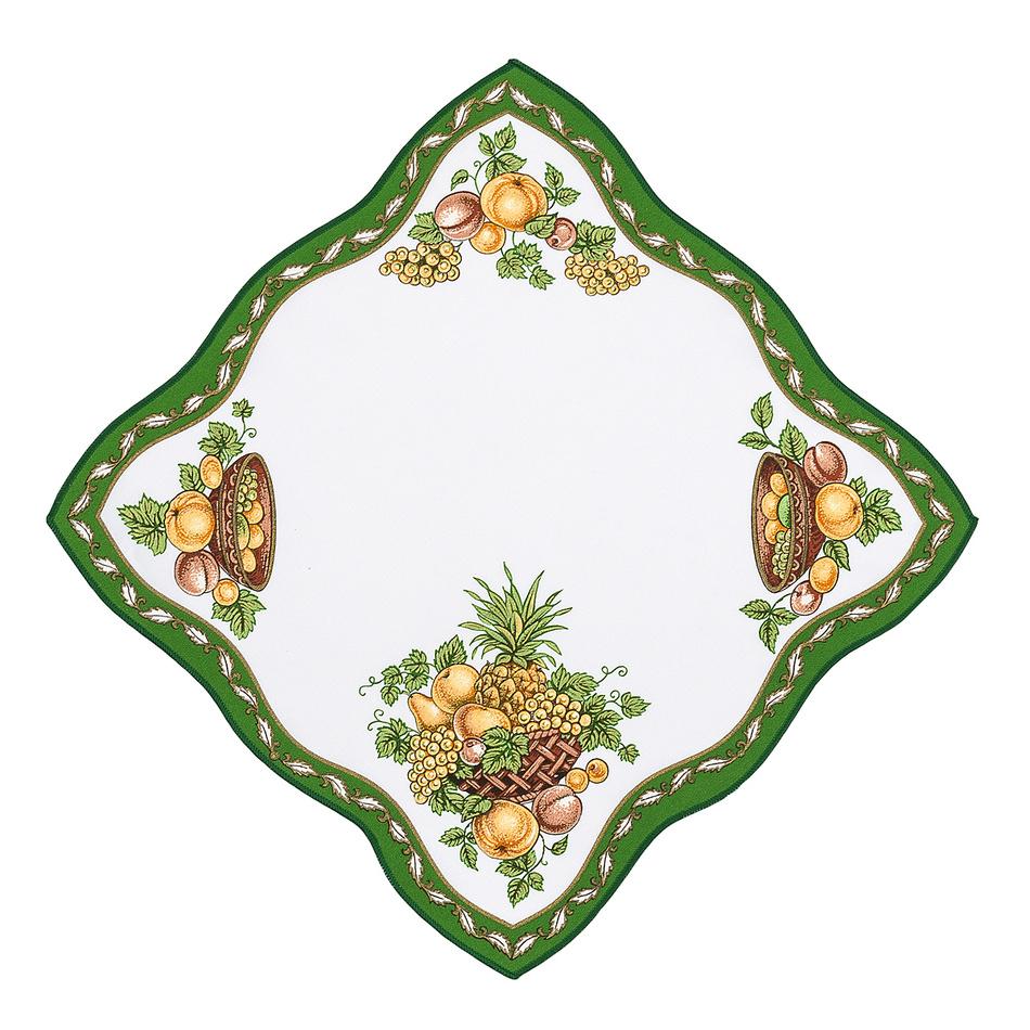 Forbyt Obrus ovocia zelená, 35 x 35 cm