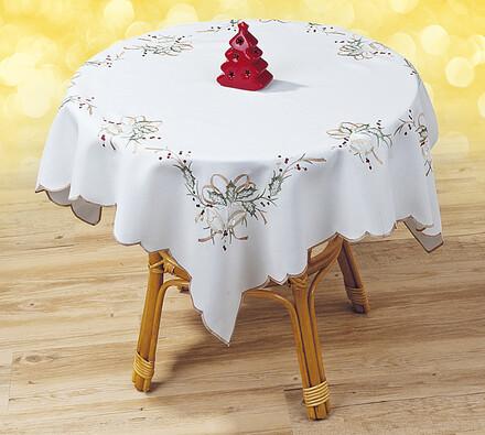 Vánoční ubrus zvonek, 85 x 85cm
