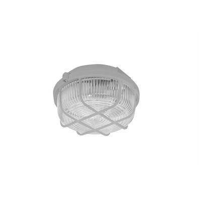 KRUH přisazené stropní a nástěnné svítidlo, 100W,šedá