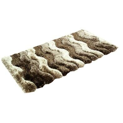 Kusový koberec Istanbul S3630, hnědá, 80 x 150 cm