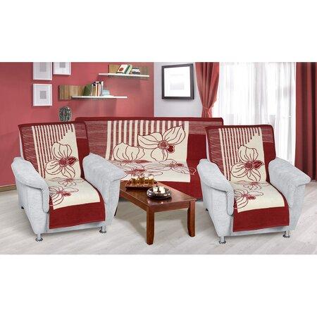 Přehozy na sedací soupravu Karmela plus Zátiší, 1 ks 150 x 200, 2 ks 65 x 150 cm
