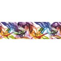 Színes füst öntapadós bordűr tapéta, 500 x 14 cm