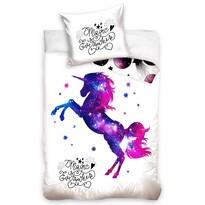 Bavlnené obliečky Magický Jednorožec, 140 x 200 cm, 70 x 90 cm