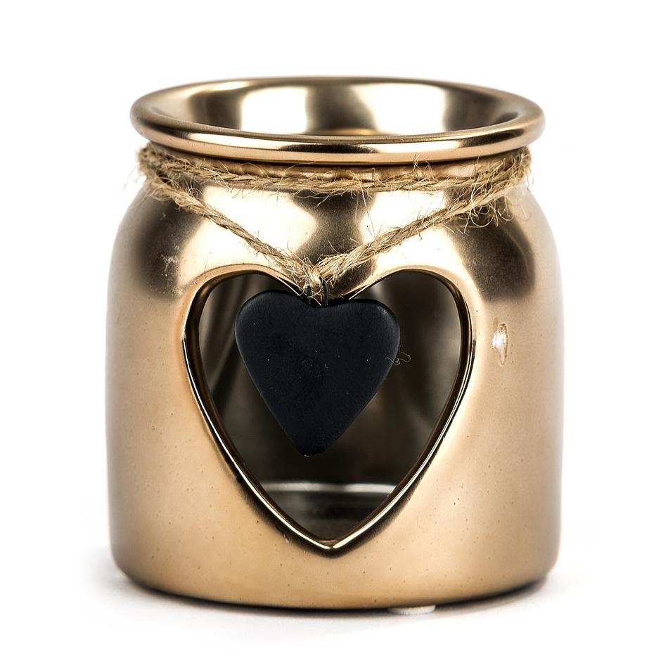 Zlatý svietnik srdce