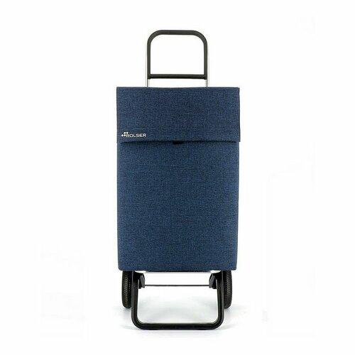 Rolser Nákupná taška na kolieskach Jean Tweed Convert RG, tmavomodrá