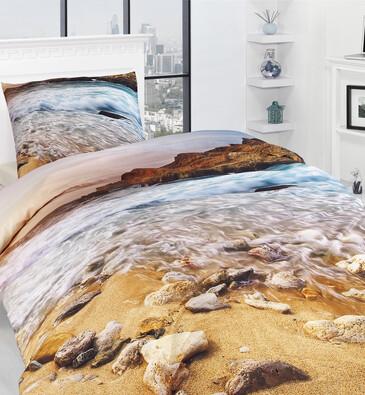 Povlečení Sea 3D, 140 x 200 cm, 70 x 90 cm