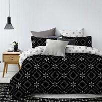 DecoKing Obliečky Hypnosis Snowynight, 140 x 200 cm, 70 x 90 cm