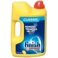 Finish Power Powder Lemon prášek do myčky  2,5 kg