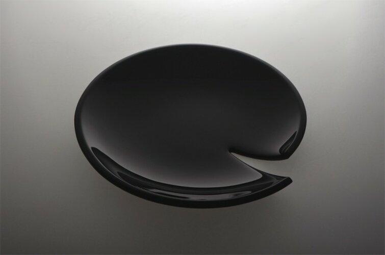 skleněný talíř Martin Žampach