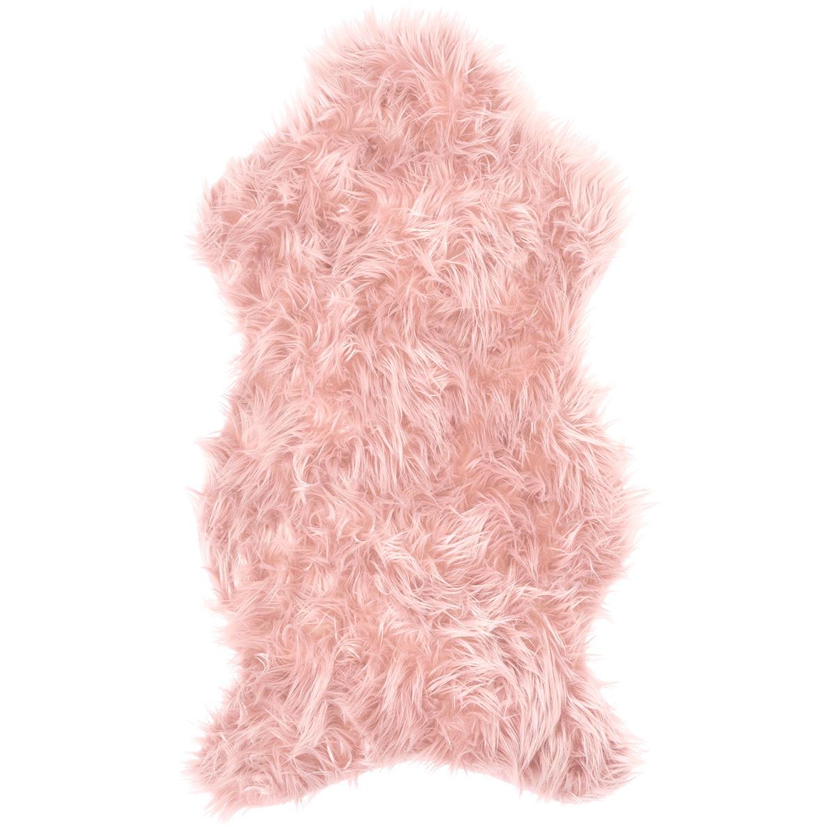 Koopman Kožušina ružová, 50 x 90 cm