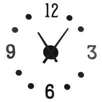 Nalepovacie hodiny NUMBER, pr. 40 cm