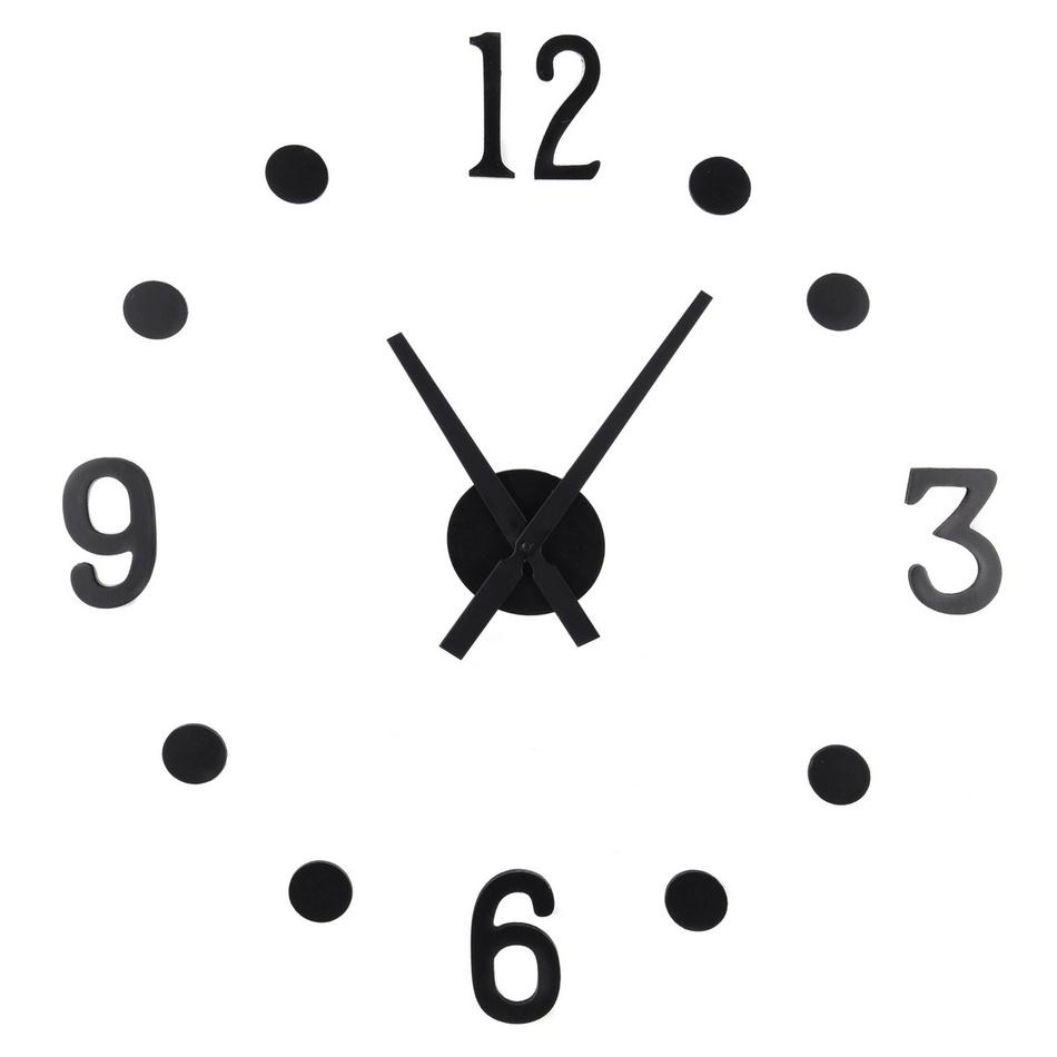 Nalepovací hodiny NUMBER, 13 ks