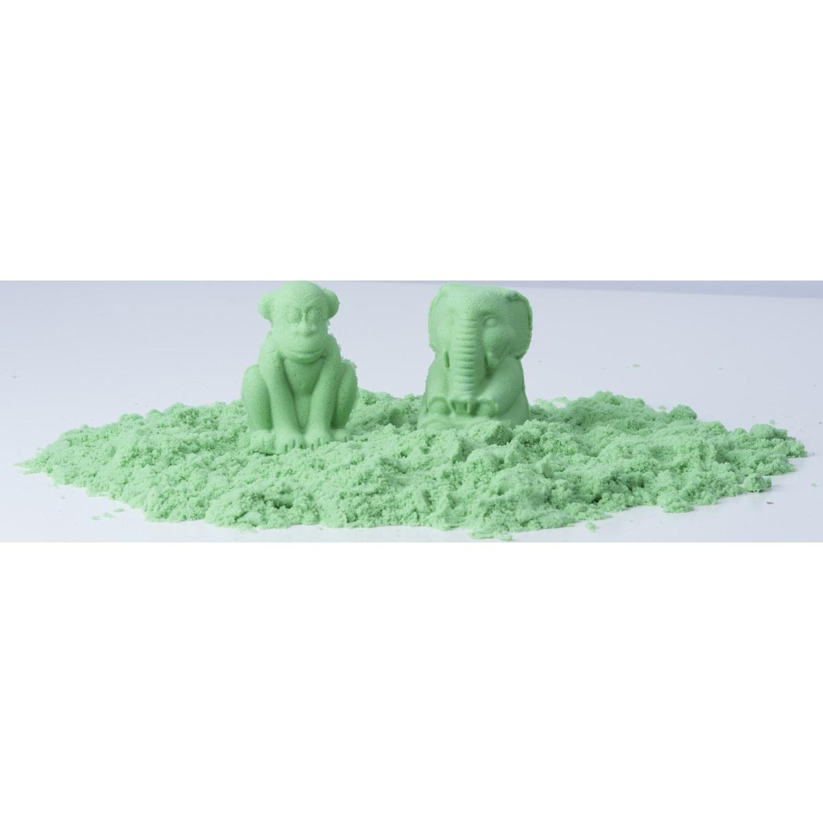 Modelovací písek, zelená