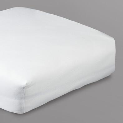 Prostěradlo s lycrou 4Home, bílá, 2 ks 90 x 200 cm