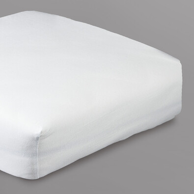 Prostěradlo s lycrou 4Home, bílá, 90 x 200 cm