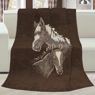 Karmela plus Lovak takaró, 150 x 200 cm
