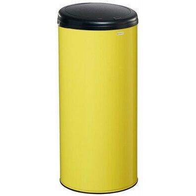 Rossignol Bezdotykový odpadkový koš Sensitive 45 l, žlutá