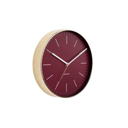 Ceas de design, de perete, Karlsson 5695RD, 28 cm