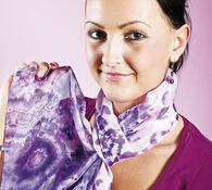 Dámský šátek na krk