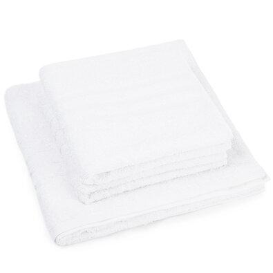 Set de prosoape Classic alb, 2 buc. 50 x 100 cm, 1 buc. 70 x 140 cm