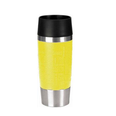 Emsa Termiczny kubek podróżny 0,36 l, żółty