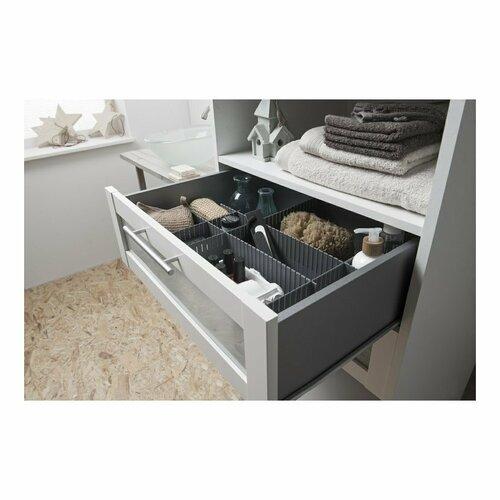 Compactor Organizer do szuflady Free, szary
