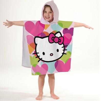 Dětské pončo Hello Kitty Mimi Love, 60 x 120 cm