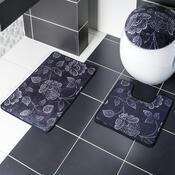 Sada koupelnových předložek Madera Mosaic Flora, 45 x 70 cm + 45 x 45 cm