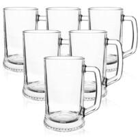 Set pahare de bere Luminarc 6 buc. DRESDEN, 500 ml