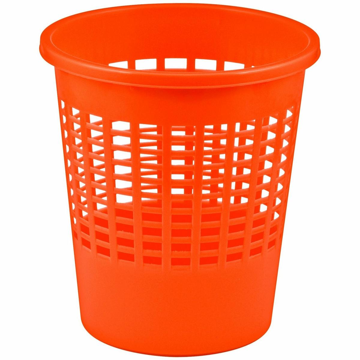 Curver Odpadkový kôš na papier Luna, 11 l, oranžová