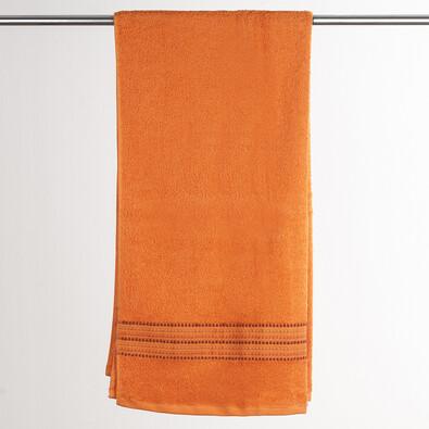 Osuška Verona oranžová, 70 x 140 cm