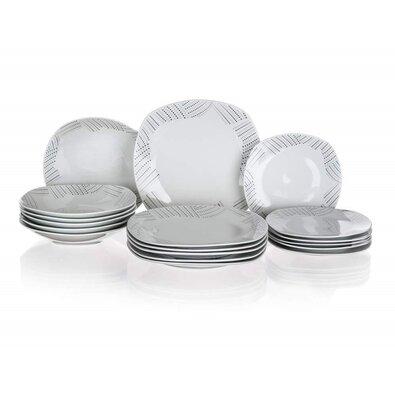 Banquet 18-częściowy zestaw jadalny Charme