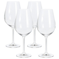 4-dielna sada pohárov na víno, 520 ml