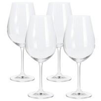 4 részes borospohár készlet, 520 ml