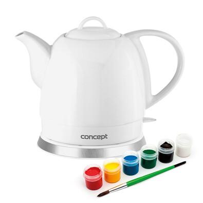 Concept RK0015 czajnik ceramiczny bezprzewodowy Creative, 1 l
