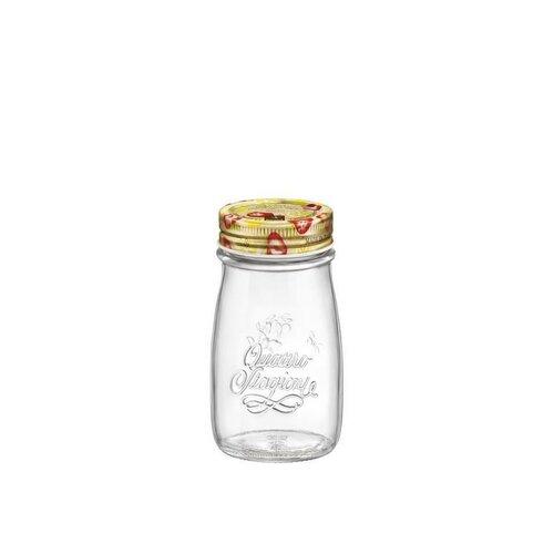 Bormioli Rocco Zavařovací láhev s víčkem Quattro Stagioni, 200 ml