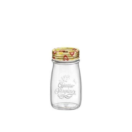 Bormioli Rocco Zaváracia fľaša s viečkom Quattro Stagioni. 200 ml