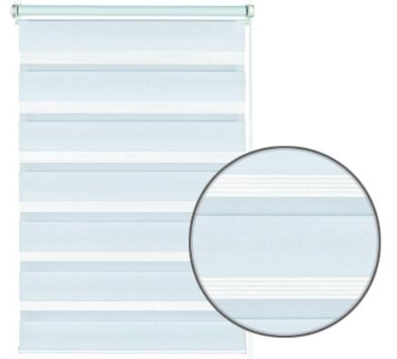 Roleta easyfix dvojitá bílá, 75 x 150 cm