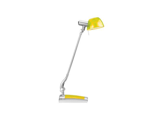 Stolná lampa Ginevra uno, žltá, Panlux