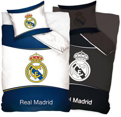 Bavlněné povlečení Real Madrid, 140 x 200, 70 x 80 cm
