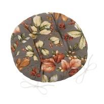 Pernă de scaun matlasată Ema Frunze, 40 cm